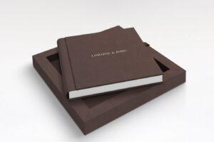 Leatherette cover wedding album 8 x 8 Free Shipping Ireland